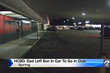 Father left 5-year-old son in freezing car in the middle of the night while he went in strip club