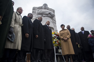 America honors Dr. Martin Luther King, Jr. with wreath laying and prayer service