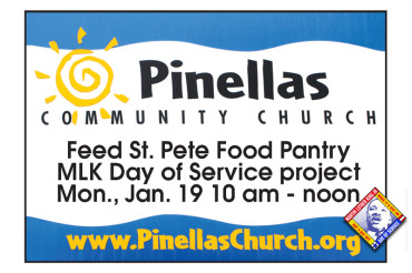 Feed St. Pete: Pinellas Community Church, An MLK Day of Service project