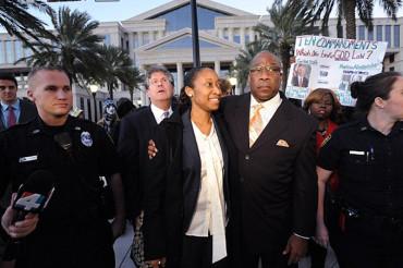 Woman sentenced to 20 years for firing warning shots at abusive husband walks free
