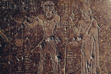 The story of a Nubian king etched in stone