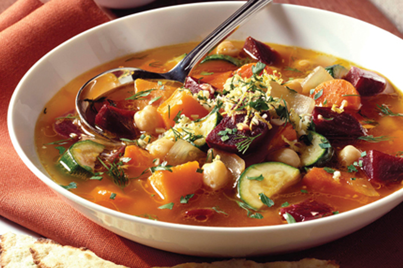 Warm Up to Veggie-Packed Soup