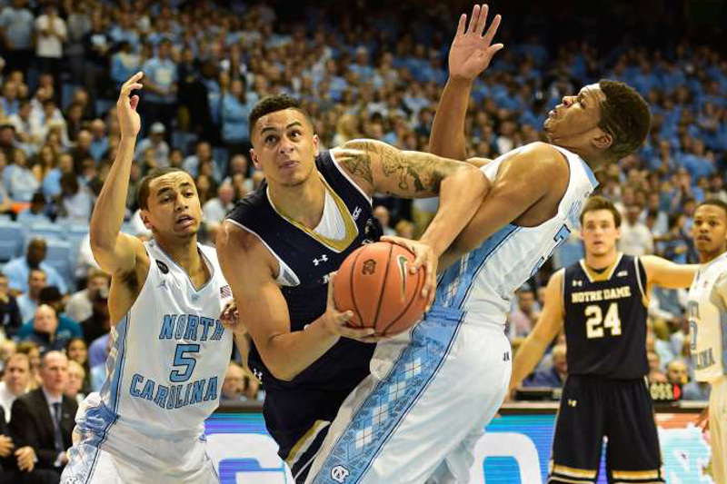 Academic issue sidelines Notre Dame forward Zach Auguste indefinitely
