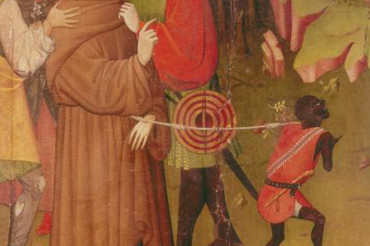Why this Image of a black demon leading St. Francis was sort of a good thing