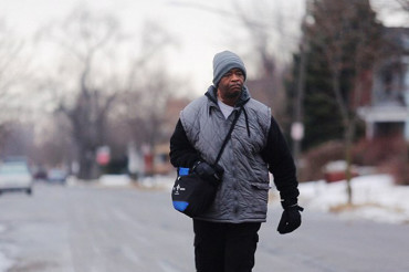 Detroit factory worker walks 21 miles to work and back each day