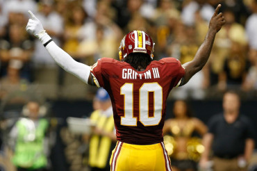 Gruden names Griffin as Redskins starting QB