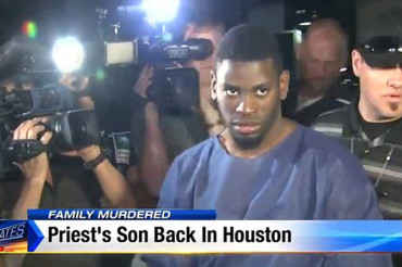 Pastor's son back in Texas in custody after beating parents to death, fatally stabbing brother