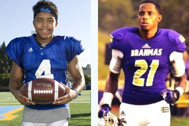 Snoop Dogg and Diddy's sons join forces on the football field at UCLA