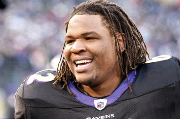 Baltimore Raven Terrence Cody released from team same day he is indicted on 15 animal cruelty charges