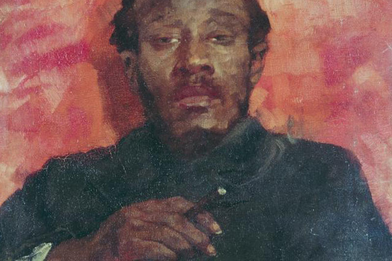 What a black man's cool, detached gaze says about race in the early days of Italy