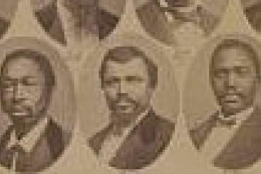 Reconstruction-era voting-rights activist claimed by an assassin's bullet