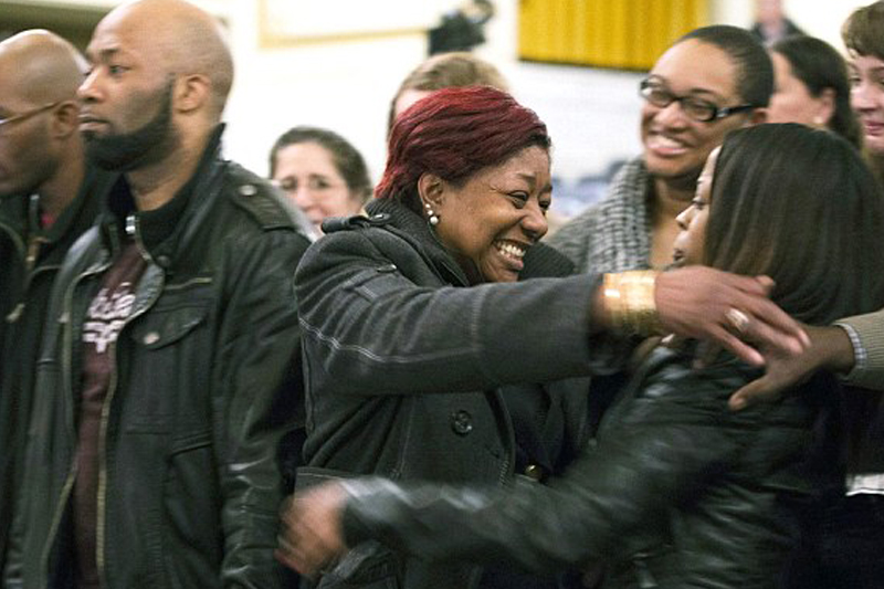 Family's joy as panel rules cop who shot mentally ill black man 14 times won't get job back