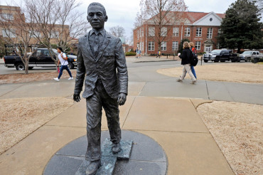 Racist frat boy who put noose on Ole Miss integration statue faces 11 years in prison