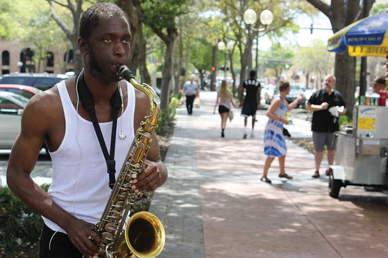 Sax on the street