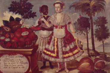 How a black slave girl came to symbolize wealth and natural beauty in the South American tropics