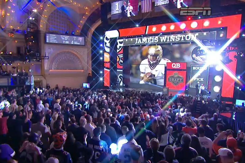 Jameis Winston to Bucs with No. 1 pick