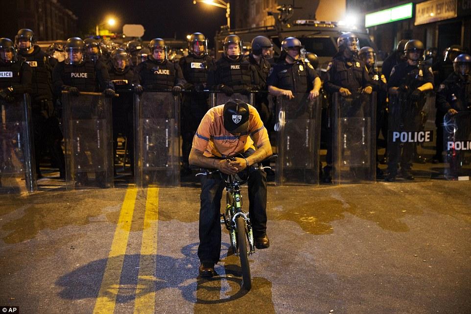 Bicycle Man Police Baltimore, btb
