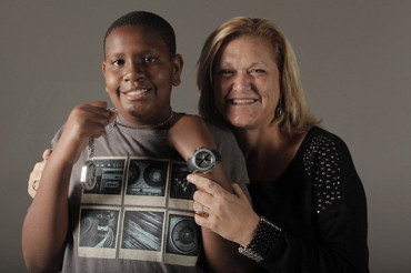 Davion Only, who made heartbreaking plea for adoption, finally finds a family – with his caseworker