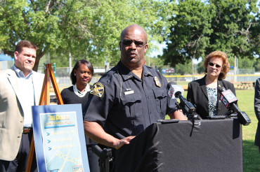 Mayor Kriseman and Chief Holloway unveil new diversion program