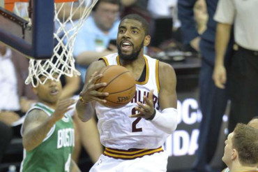 Kyrie Irving and Cavaliers playoff rookies ace debut