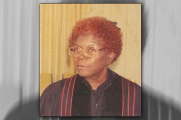 In memoriam: Reverend Sallie Mae Pelt