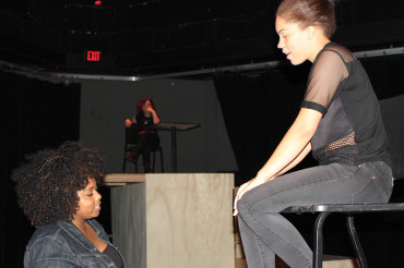 'Fires in the Mirror' on stage at Gibbs High School