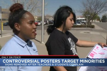 Outrage at Denver high school over posters directed at Black and Latina Female Students
