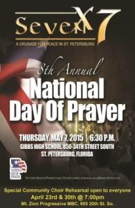 National Day of Prayer, 2015