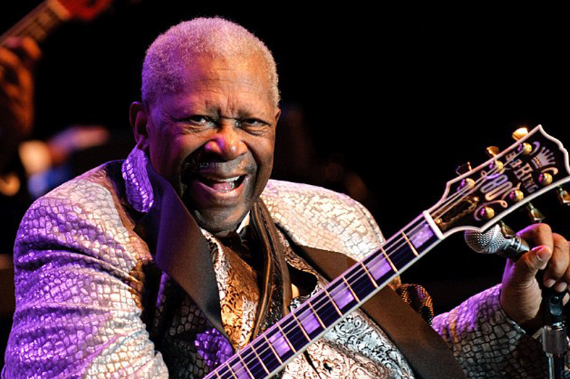 'King Of Blues' guitarist B.B. King dies in Las Vegas at 89