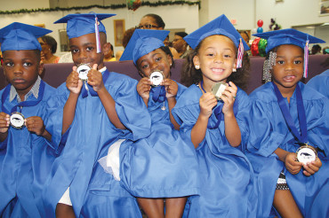 2015 Kidz World graduates shine