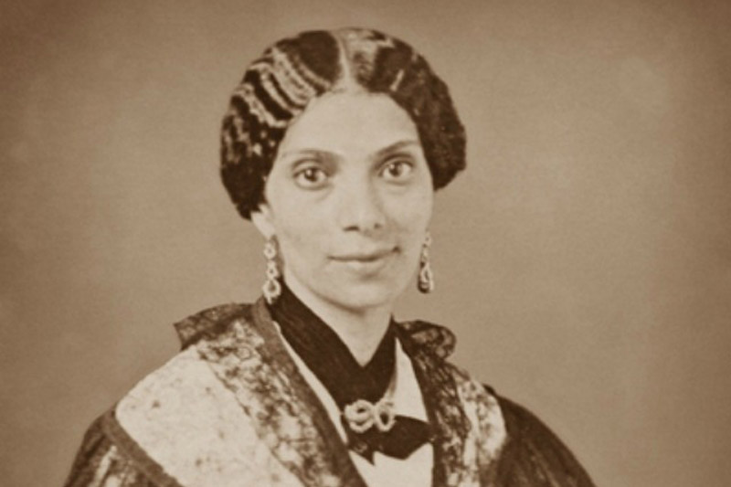 She led the first educational effort on the grounds of modern-day Hampton University