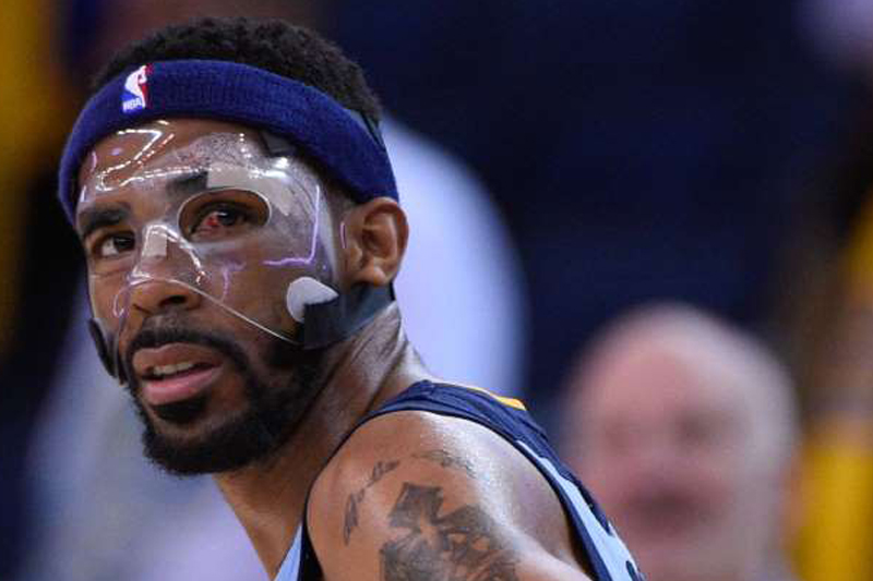 Mike Conley, the Memphis Grizzlies' heroic Masked Man, is unbreakable