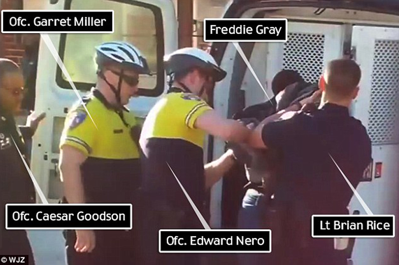 Family Source: 3 of 6 officers in Freddie Gray case are black 'shows it's not about race'