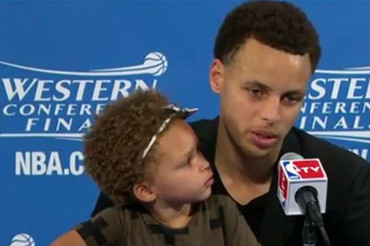 Steph Curry's 2-year-old daughter has created the dumbest sports controversy