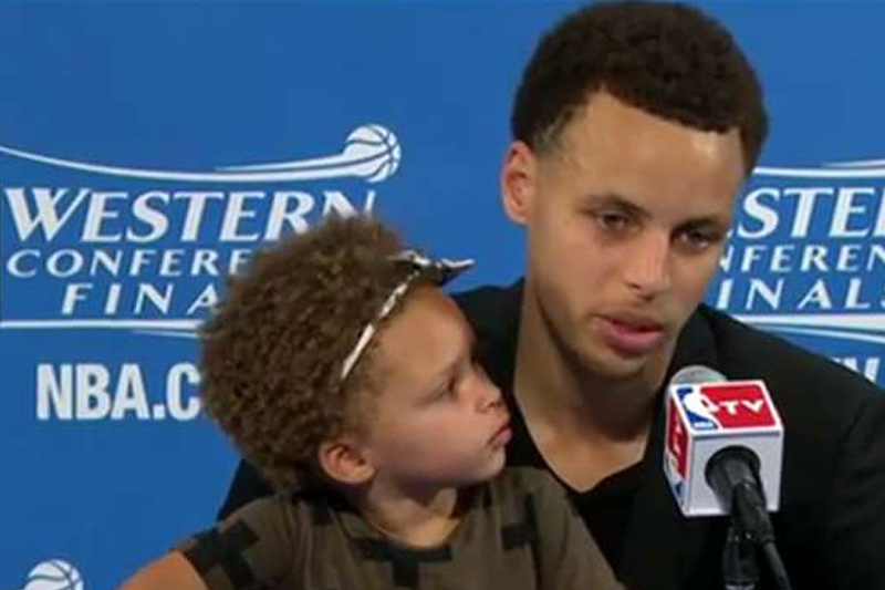 Steph Curry Daughter, sports