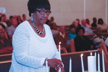 Candlelight vigils for the Charleston 9