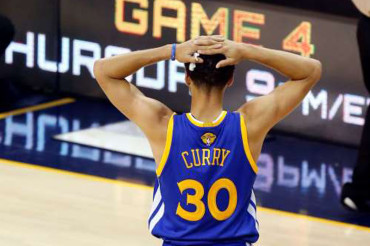 Curry can't shoot Warriors all the way back in Game 3