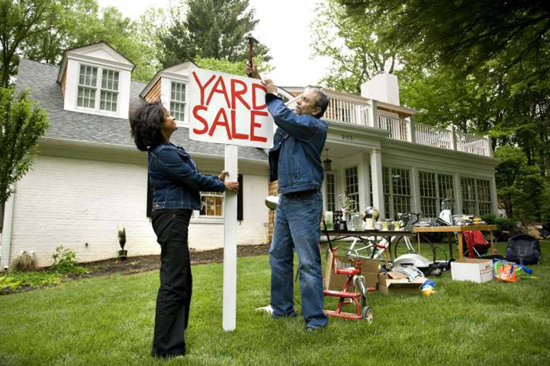 10 Tips for having a killer garage sale