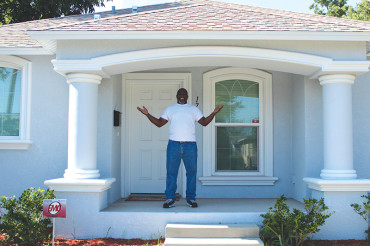 From homelessness to homeowner