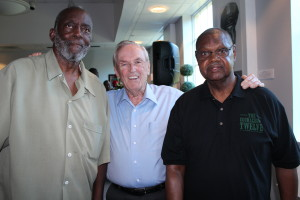 """City Manager Lynn Andrews was very much in control of the police department,"" said Former Mayor Don Jones seen here standing in the middle of Crawford (left) and Jackson (right). ""He and I had two entirely different views of what the future of St. Petersburg should be like."""