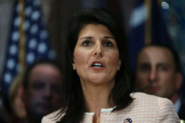South Carolina governor calls for rebel flag's removal from grounds