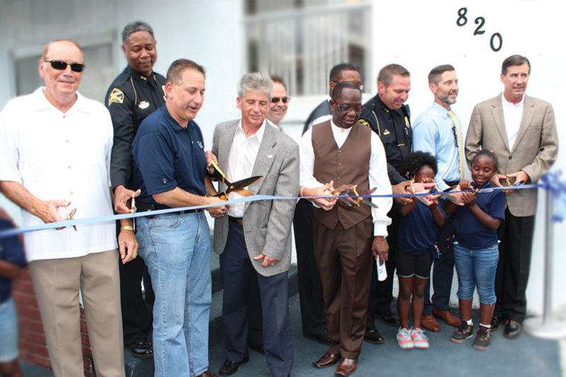 Police Athletic League opens Midtown facility