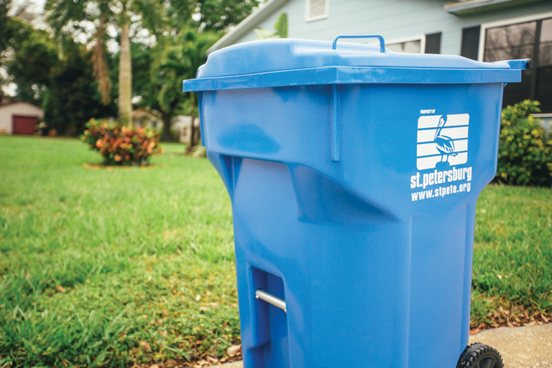 Universal curbside recycling