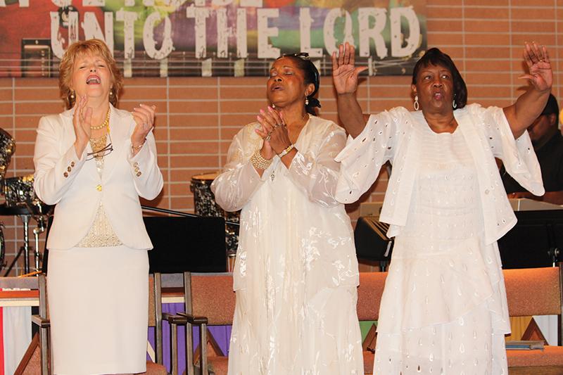 Ladies in White Prayer Brunch