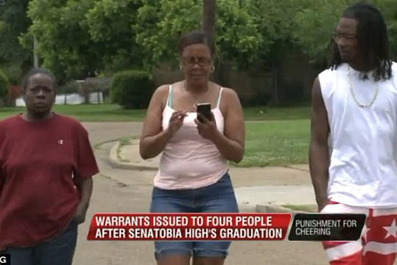 Parents face fines, jail time for cheering and shouting at daughter's high school graduation