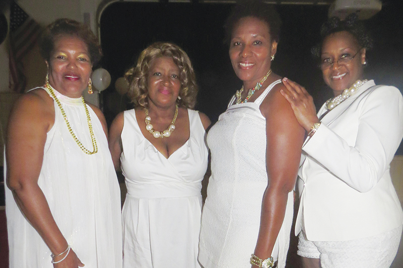 All white dance birthday party