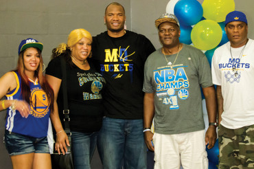 NBA champion Marreese Speights back in Childs Park