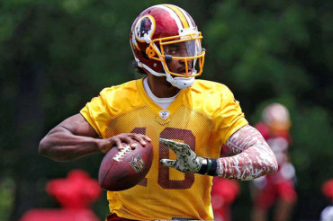 Redskins' Gruden credits QB coach with RG3′s progress