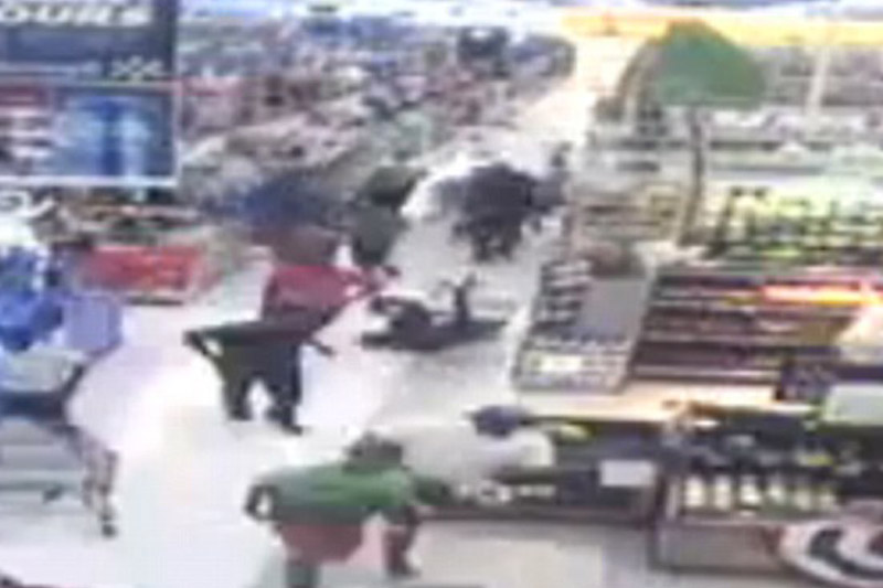 50 Georgia teens go on rampage in Walmart, drag disabled shopper from motorized cart