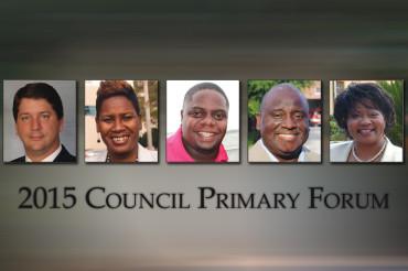 St. Pete Decides 2015 Council Primary Forum